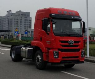 上汽依维柯红岩 杰卡C100 重卡 350马力 4×2 牵引车(CQ4186ZTVG361)