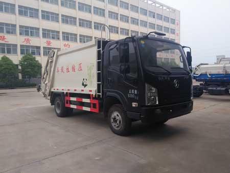 湖北成龙威 楚飞 130马力 4×2 压缩式垃圾车(CLQ5080ZYS5SX)