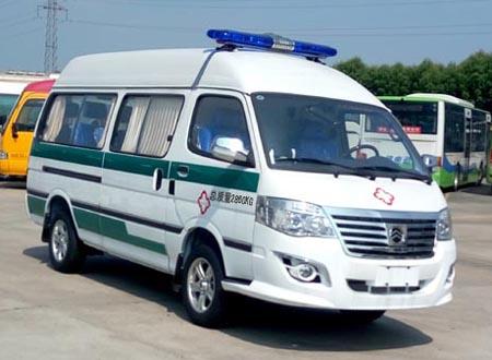 厦门金旅 金旅海狮 110马力 2-8人 救护车(XML5036XYL65)