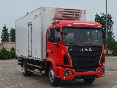 江淮汽车 格尔发K6L 190马力 4×2 冷藏车(HFC5161XLCP3K1A57V)