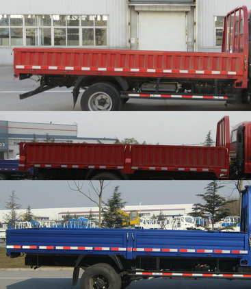 福田汽车 奥铃 107马力 栏板式 排半 载货车 BJ1049V9PEA-3