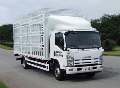 庆铃 五十铃700P中卡 190马力 4×2 仓栅载货车(QL5100CCY9MAR1J)