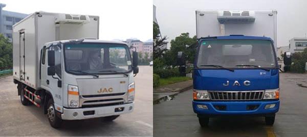 江淮汽车 帅铃 124马力 4×2 冷藏车(HFC5041XLCP73K2C3-1)
