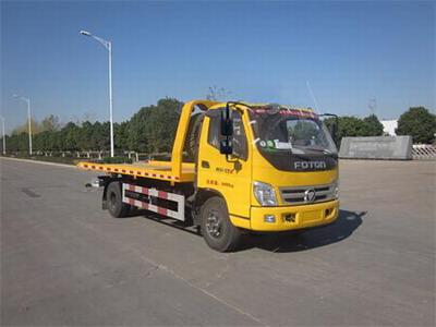 福田汽车 雷萨 154马力 4×2 一拖一清障车(HFV5080TQZBJ4)