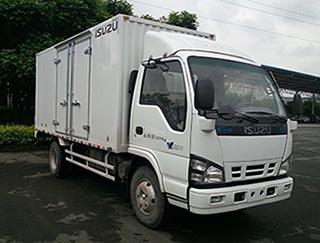 庆铃汽车 五十铃600P 130马力 厢式 单排 载货车(QL5070XXYA5HA)