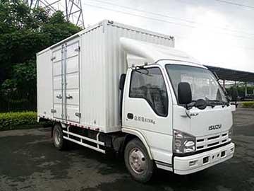 庆铃汽车 五十铃100P 98马力 厢式 单排 载货车(QL5042XXYA6HA)