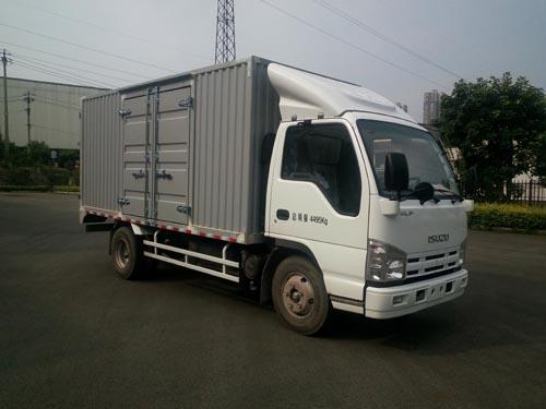 庆铃汽车 五十铃100P 98马力 厢式 单排 载货车(QL5041XXYA6HA)
