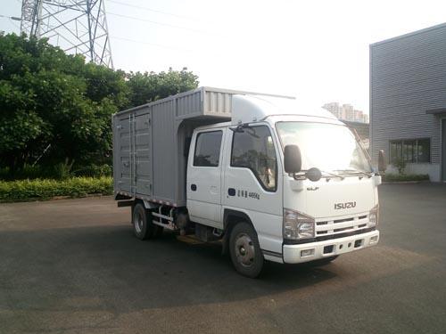 庆铃汽车 五十铃100P 98马力 厢式 双排 载货车(QL5040XXYA6HW)