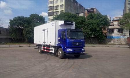 东风柳汽 乘龙 180马力 4×2 冷藏车(LZ5182XLCM3AB)