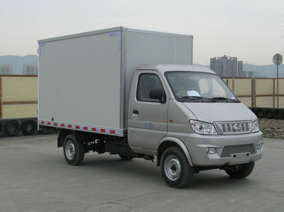 长安跨越 新豹二代 88马力 汽油 厢式 单排 载货车(sc5031xxyagd51)图片