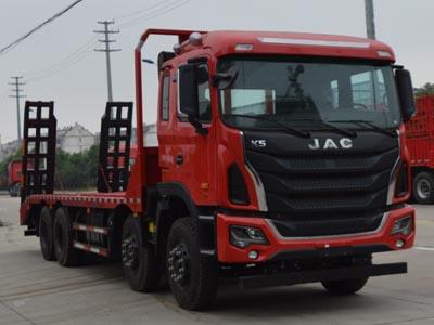 江淮汽车 格尔发K5W 350马力 8×4 平板运输车(HFC5311TPBP1K4H38S3V)