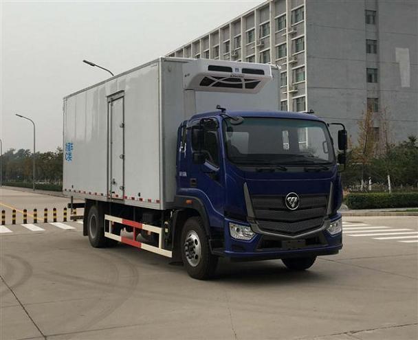 福田汽车 欧马可S5  185马力 4×2 冷藏车(BJ5166XLC-A2)