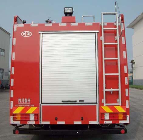 四川森田 川消 360马力 6×4 泡沫消防车(SXF5280GXFPM120B)