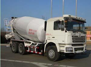 陕汽重卡 德龙F3000 336马力 6×4 混凝土搅拌运输车(SX5256GJBDT384)