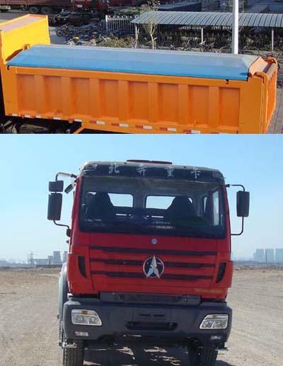 北奔重汽 北奔NG80 重卡 336马力 6×4 自卸车(ND32502B38J)