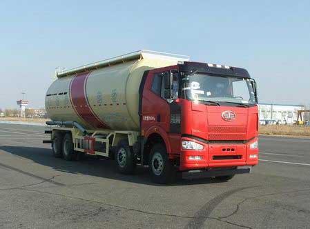 一汽解放 解放J6P 420马力 8×4 低密度粉粒物料运输车(CA5310GFLP66K24L7T4E4)
