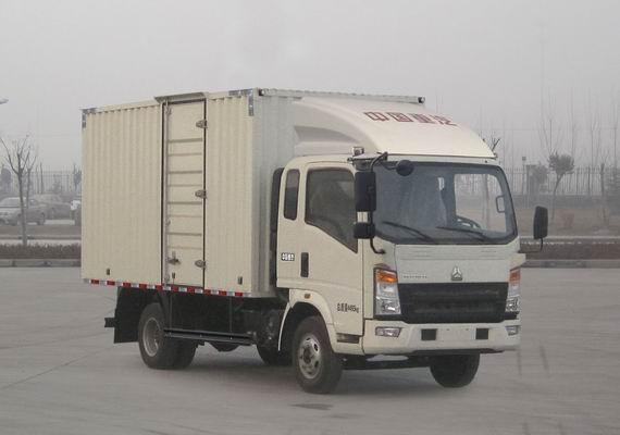 中国重汽 HOWO 141马力 厢式 单排 载货车 ZZ5047XXYF341BD145