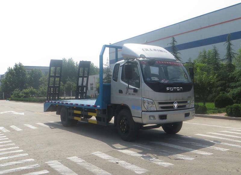 福田汽车 奥铃 154马力 4×2 平板运输车(BJ5149TPB-FA)