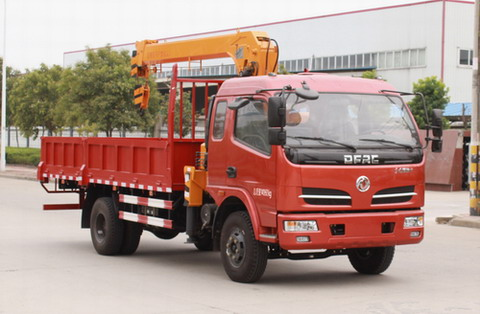 东风股份 多利卡 143马力 4×2 随车起重运输车(EQ5140JSQ8GDDAC)
