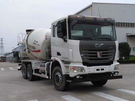 联合卡车 集瑞联合 350马力 6×4 混凝土搅拌车(QCC5252GJBD654)