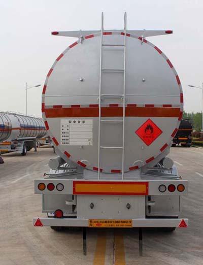 冠亚达易燃液体罐式运输半挂车 CTY9403GRYJBW