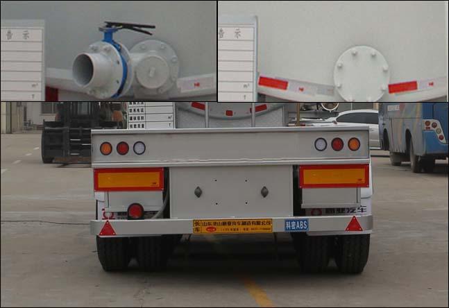 冠亚达易燃液体罐式运输半挂车 CTY9403GRYGW