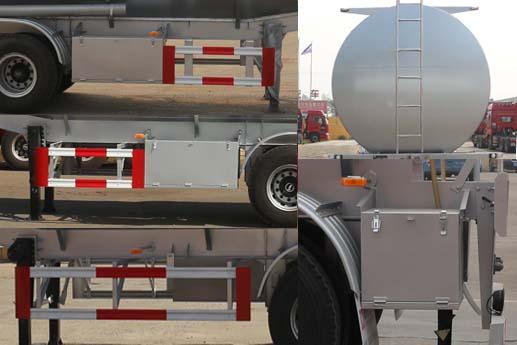 通亚达易燃液体罐式运输半挂车 CTY9403GRYGW