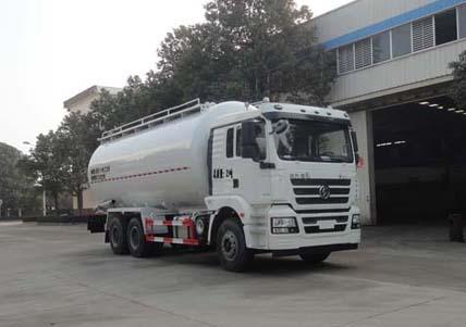 陕汽重卡 德龙M3000 300马力 6X4 低密度粉粒物料运输车 SGZ5250GFLSX5