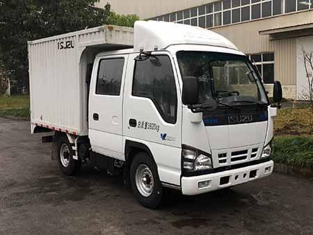 庆铃汽车 五十铃600P 130马力 钢 双排 载货车(QL5040XXYA5EWJ)
