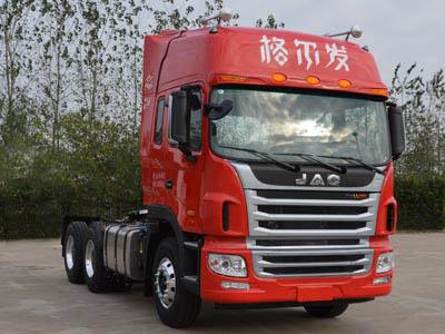 江淮汽车 格尔发k5 重卡 350马力 6×4 牵引车(hfc4251p1k5e33s3q1v)