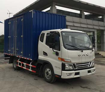 江淮汽车 骏铃 110马力 厢式 单排 载货车(HFC5045XXYP92K4C2V)