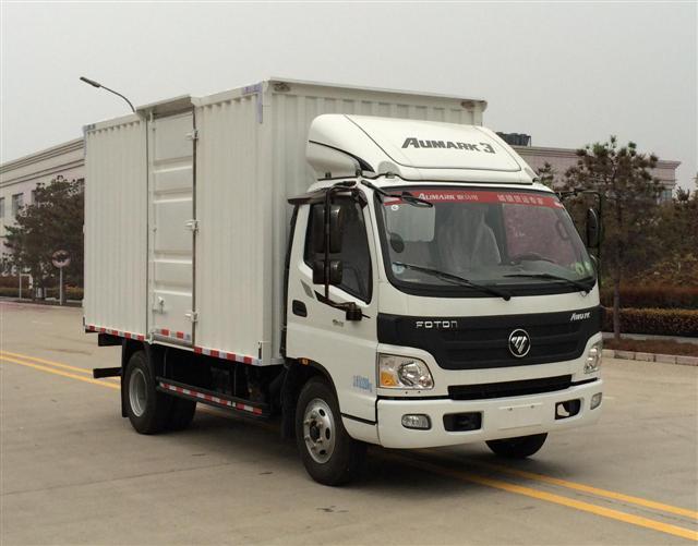 福田 欧马可 129马力 单排厢式轻卡(BJ5049XXY-A1)