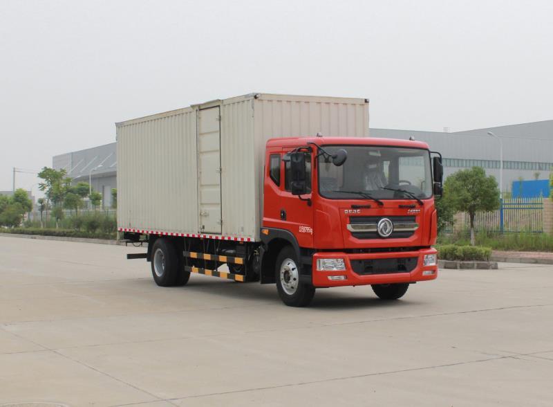 东风股份 多利卡d9 中卡 180马力 4×2 厢式 排半 载货车(eq5183xxyl9图片