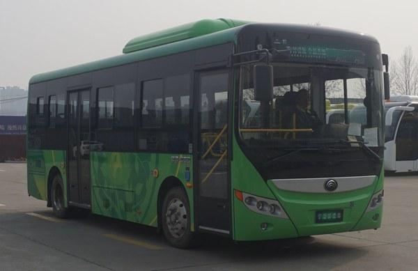 宇通纯电动城市客车 zk6805bevg25