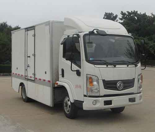 东风华神 华神T1 轻卡 190马力 4×2 厢式 单排 载货车(EQ5045XXYTBEV19)