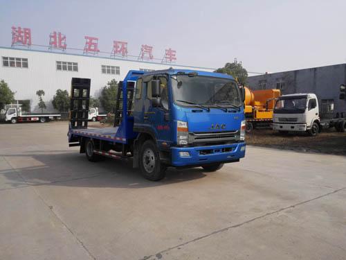 五环汽车 华通 190马力 4×2 平板运输车(HCQ5161TPBHF5)