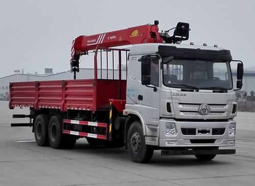 湖北三环 昊龙 270马力 6×4 随车起重运输车(STQ5258JSQS5)