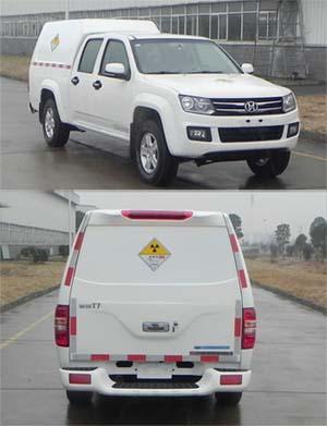 江铃汽车 骐铃 112马力 4x2 放射性物品厢式运输车(JSV5021XFSZLS5)