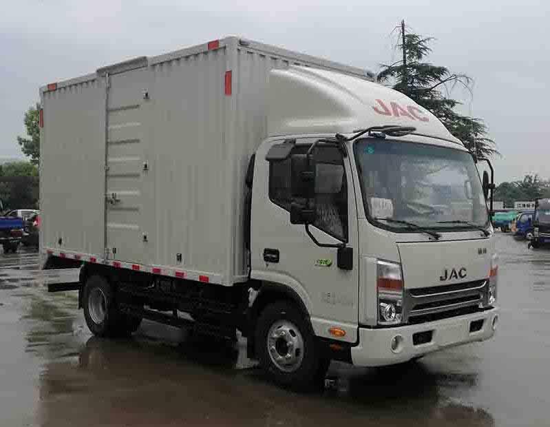 江淮汽车 帅铃 120马力 厢式 单排 载货车(HFC5043XXYP71K5C2V)