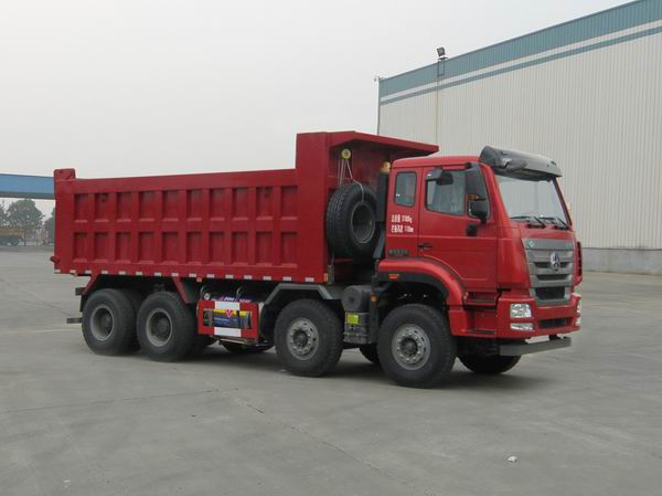 中国重汽 豪瀚J7G 重卡 430马力 8×4 自卸车(ZZ3315V3566E1L)