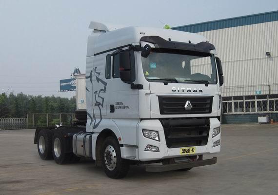 中国重汽 SITRAK-C7H 重卡 400马力 6×4 牵引车(ZZ4256V324HE1W)