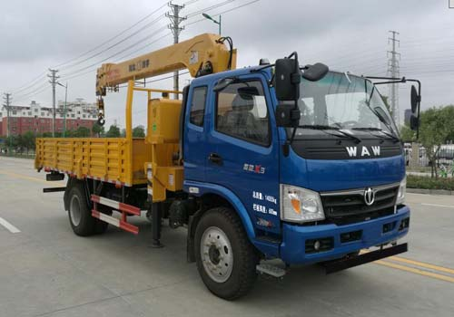 五环汽车 华通 156马力 4×2 随车起重运输车(HCQ5141JSQFD5)