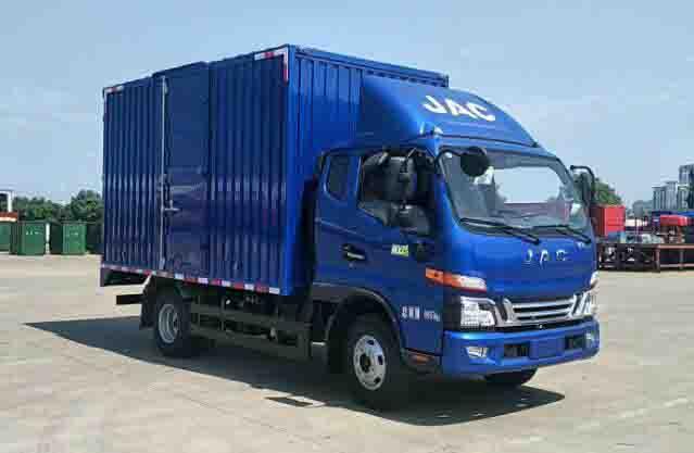 江淮汽车 骏铃 轻卡 170马力 4X2 厢式 单排 载货车(HFC5042XXYB31K1C7S)