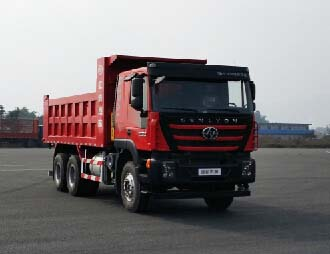 上汽依维柯红岩 新金刚 重卡 300马力 6×4 自卸车(CQ5256ZLJHMDG384L)