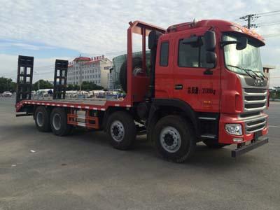 湖北大力 大力 310马力 8×4 平板运输车(DLQ5311TPBY5)