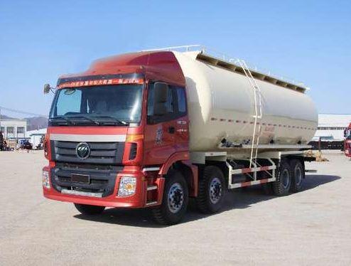 福田汽车 欧曼ETX9系 360马力 8×4 低密度粉粒物料运输车(BJ5313GFL-AB)