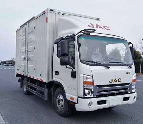 江淮汽车 帅铃H330 143马力 厢式 单排 载货车(HFC5053XXYP71K1C2V)