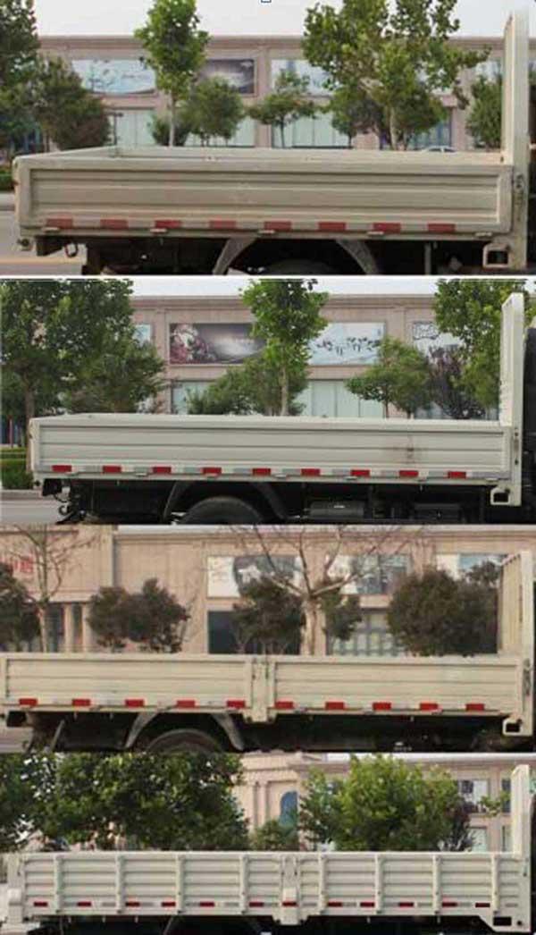时代汽车 小卡之星3 88马力 栏板式 双排 载货车(BJ1046V9AB5-F3)