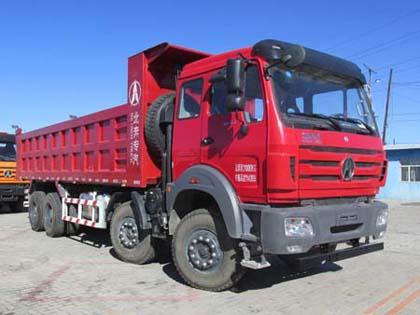 北奔重汽 北奔NG80 重卡 375马力 8×4 自卸车(ND3310DD5J6Z02)