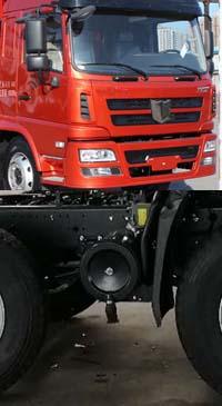 联合卡车 集瑞联合 300马力 8×4 混泥土搅拌车(QCC5312GJBD656N)